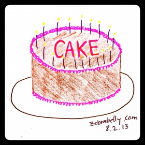 (Reusing an old image here because I'm out of time. Also because CAKE.)